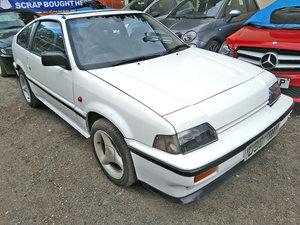 1986 Honda crx mk1 1600 16 valve classic car barn find
