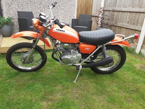 Honda SL350 K1 1971 stunning condition