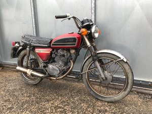 HONDA CB 125 1976 ROAD REGD WITH V5 SHED FIND £1395 ONO