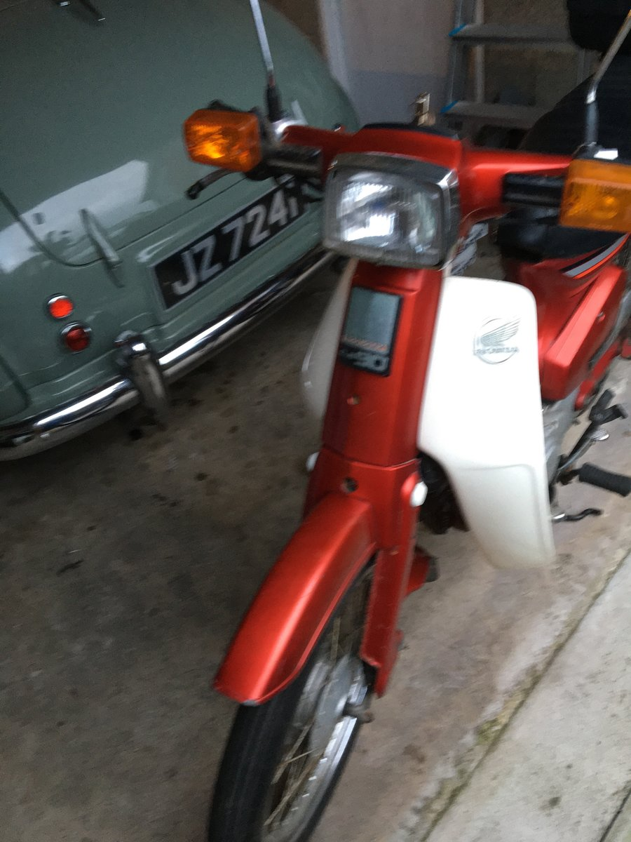 1988 Honda C90 stepthrough  For Sale (picture 1 of 6)
