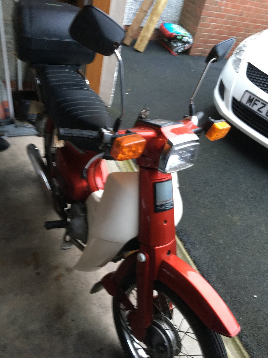 1988 Honda C90 stepthrough  For Sale (picture 4 of 6)