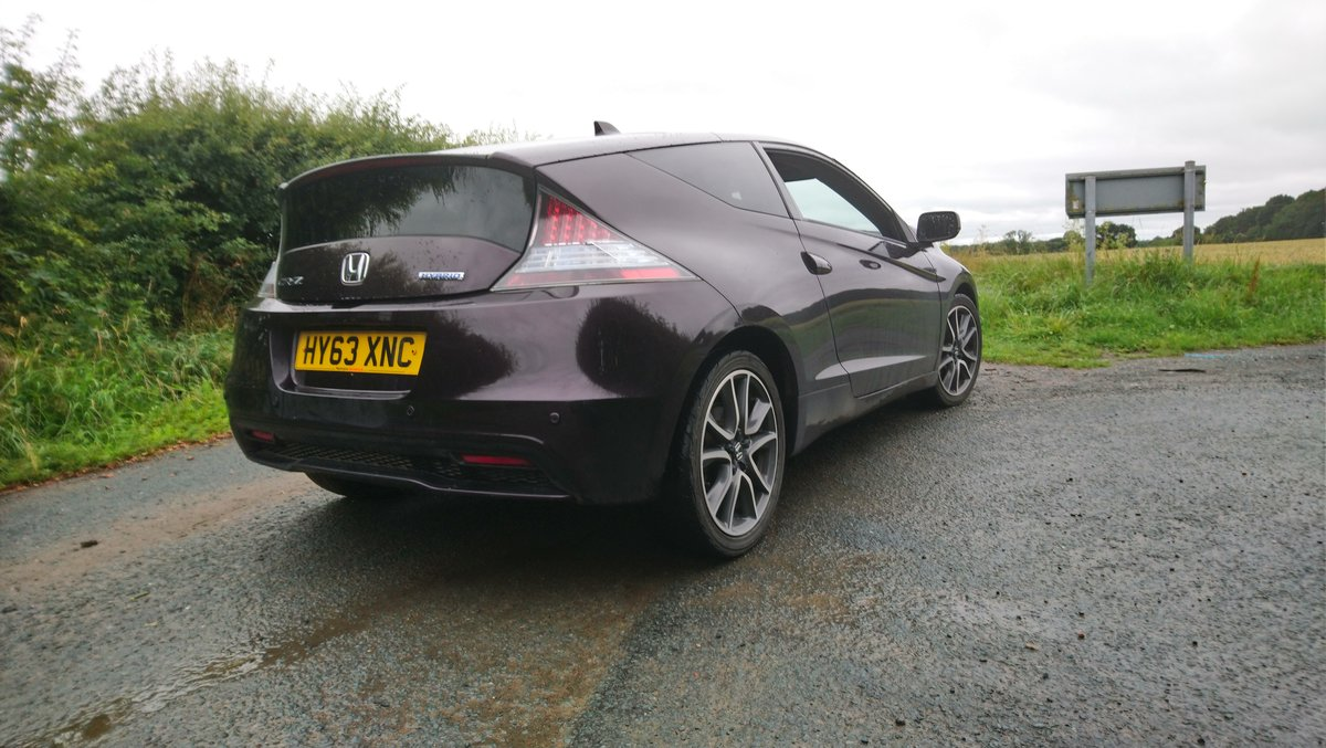 2013 Honda CRZ rare facelift model in Aurora Violet SOLD (picture 3 of 6)