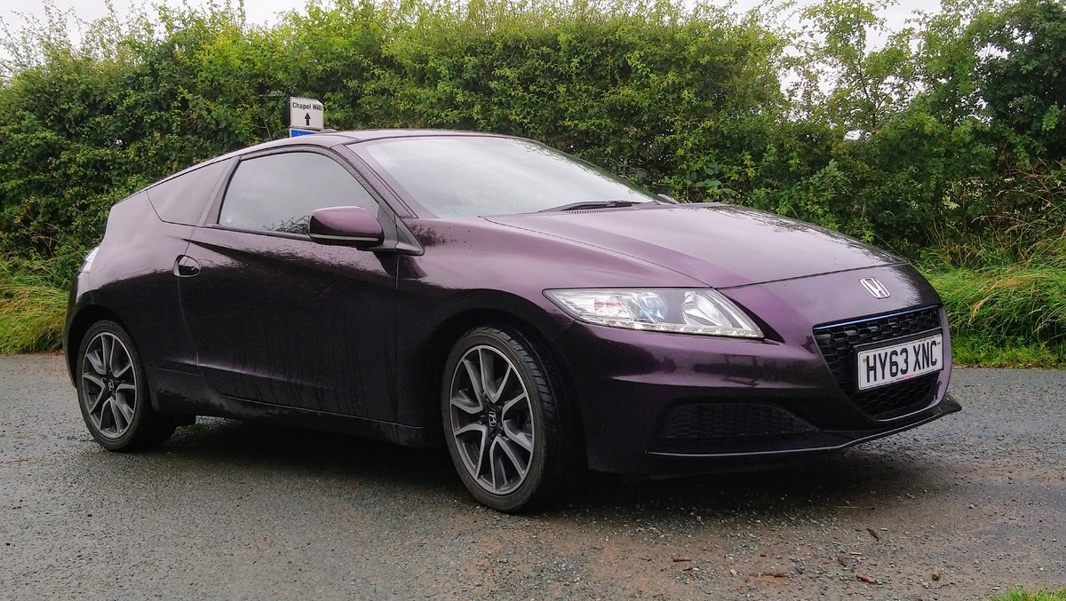 2013 Honda CRZ rare facelift model in Aurora Violet SOLD (picture 5 of 6)