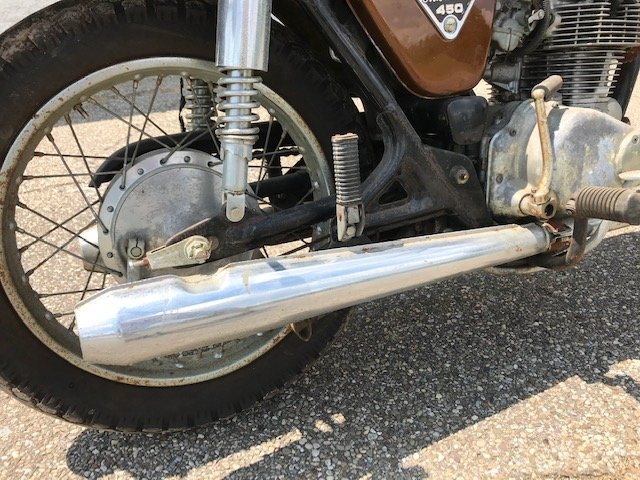 1973 Honda CB450 For Sale (picture 4 of 6)