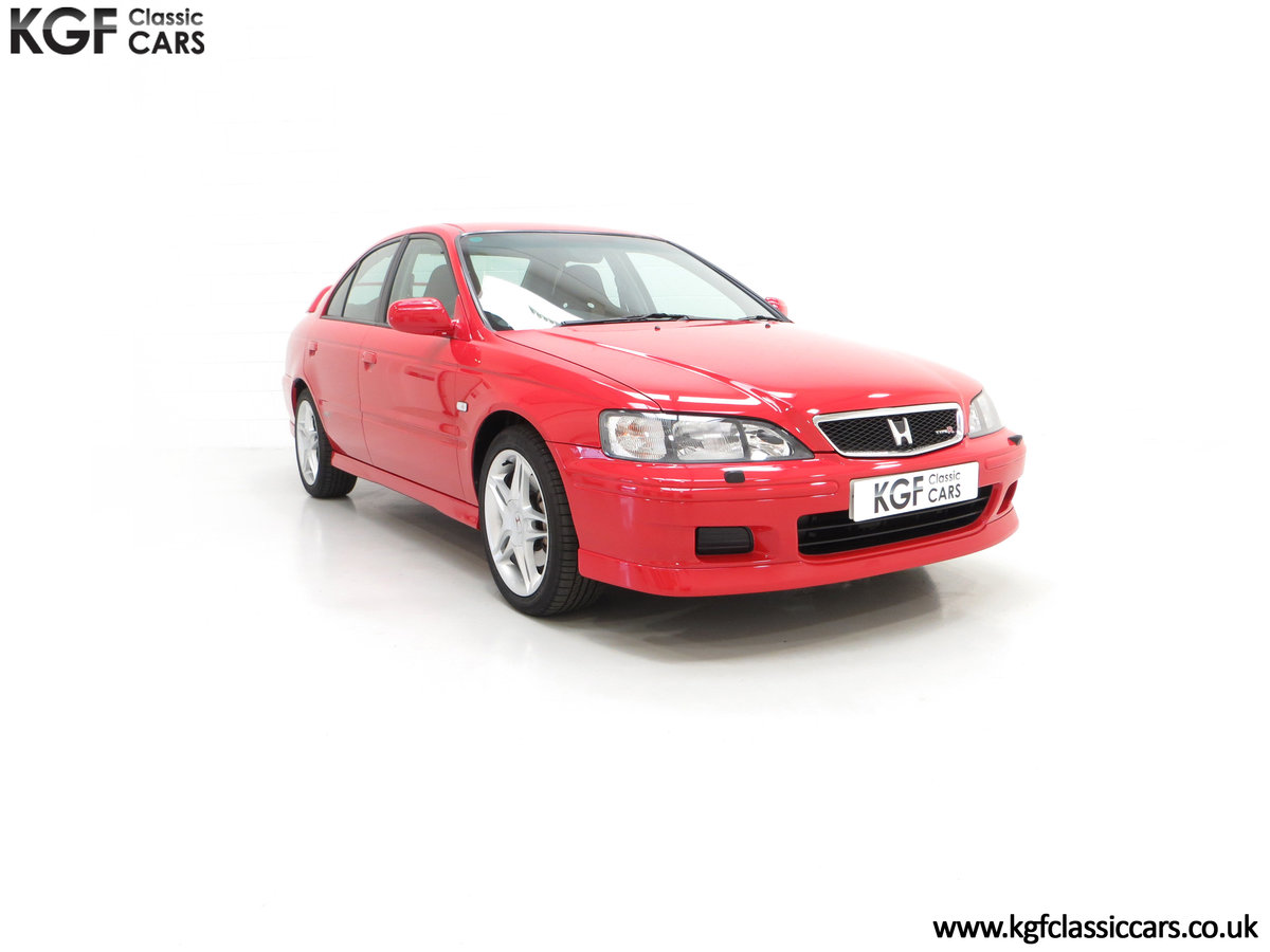 1999 An Astonishing UK Honda Accord Type R with 11,897 Miles SOLD (picture 1 of 24)