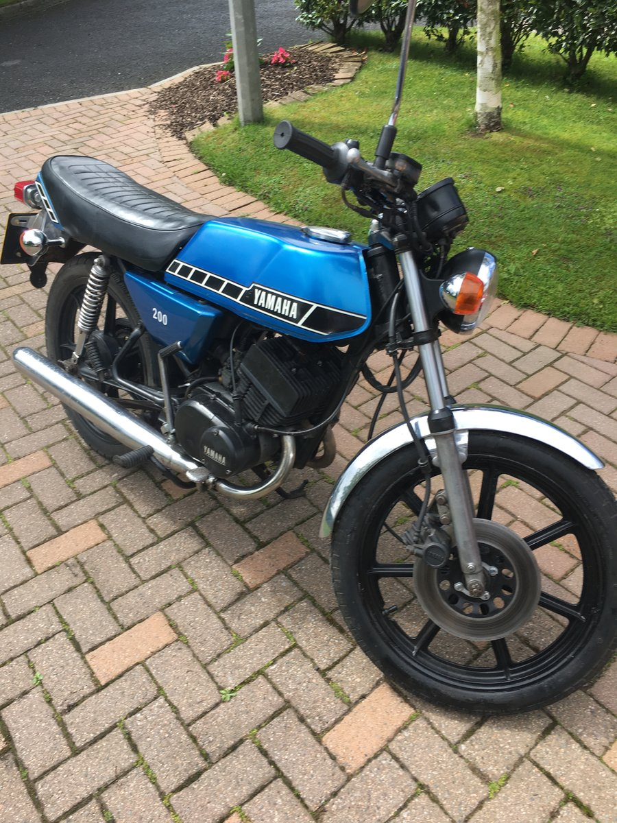 1978 Yamaha Rd200  For Sale (picture 1 of 6)