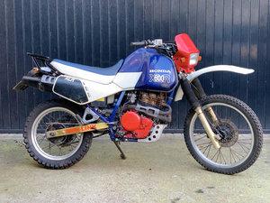 1985 Dakar Honda XL 600