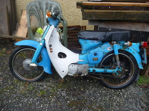 Honda C90 Cub complete with valuable registration