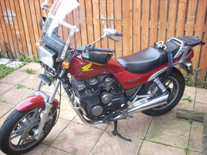 1983 Honda 650 nighthawk and parts