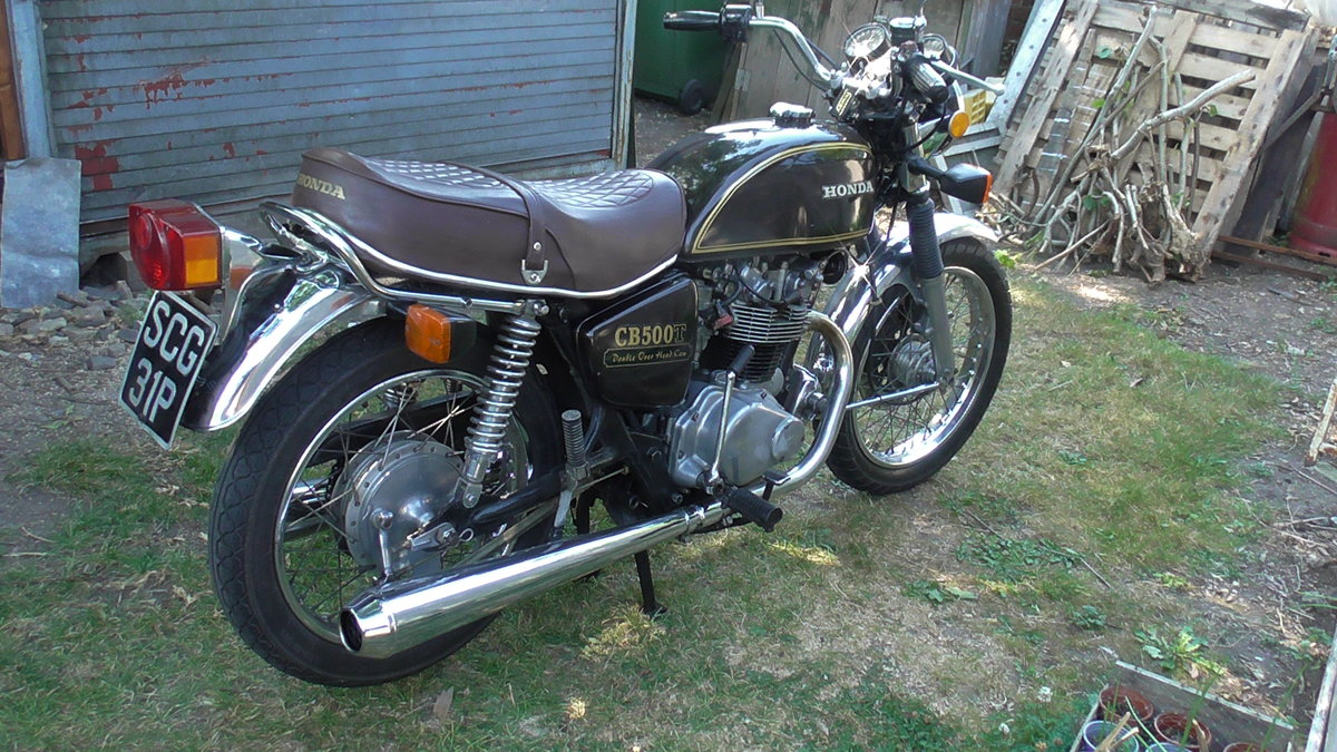 1976 Honda CB500T Classic Motor Cycle For Sale (picture 1 of 6)