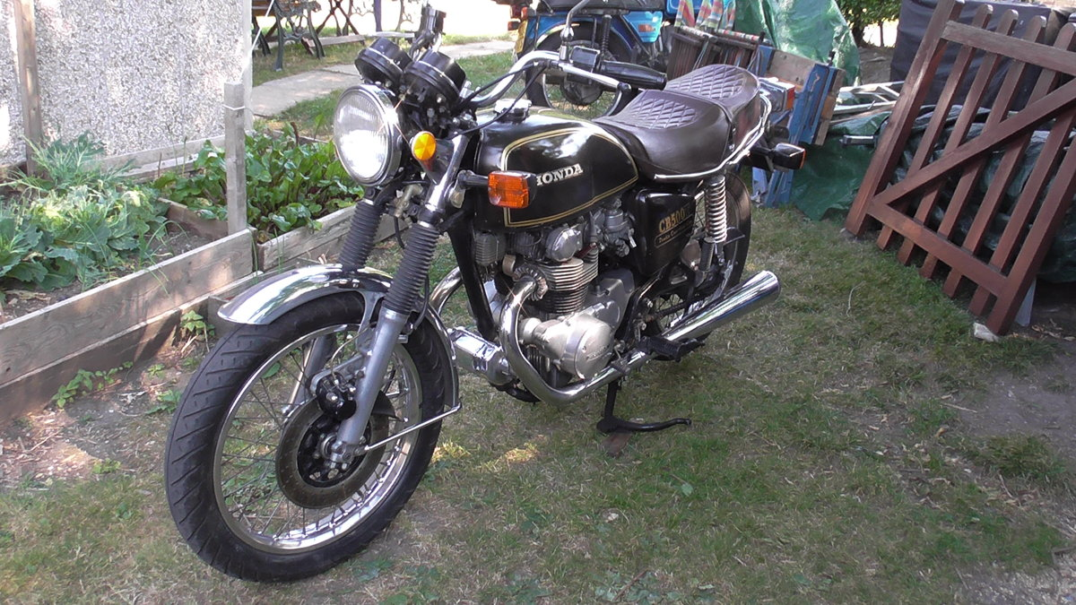 1976 Honda CB500T Classic Motor Cycle For Sale (picture 3 of 6)
