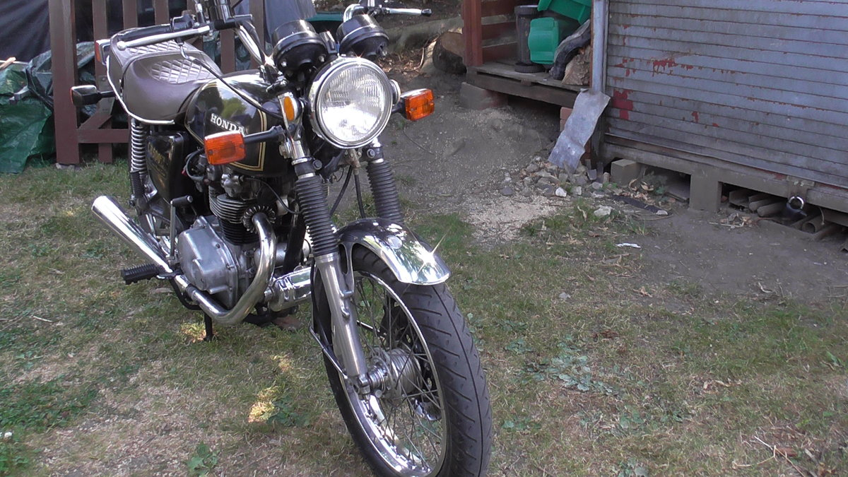 1976 Honda CB500T Classic Motor Cycle For Sale (picture 4 of 6)