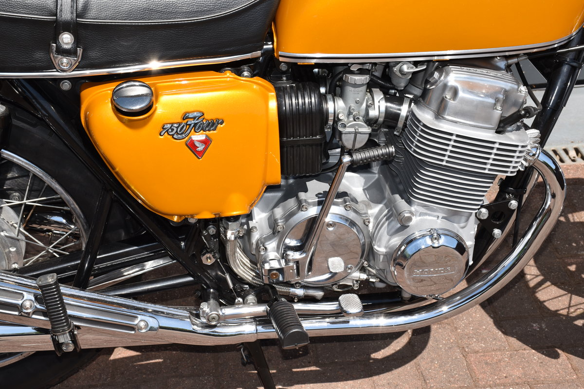 1971 Honda CB750K1  in spectacular restored condition SOLD (picture 5 of 6)