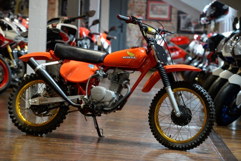 1977 Honda XR75 Seventies off-road Classic For Sale (picture 1 of 6)