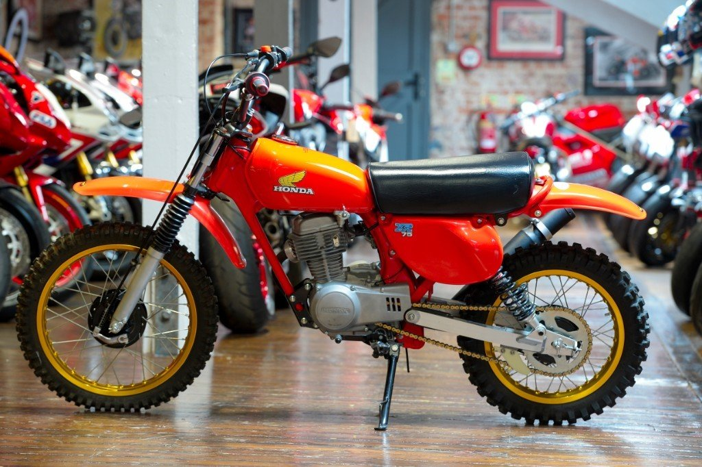 1977 Honda XR75 Seventies off-road Classic For Sale (picture 2 of 6)