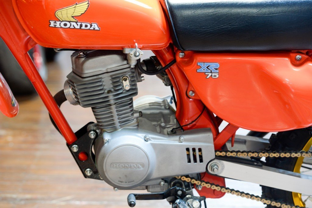 1977 Honda XR75 Seventies off-road Classic For Sale (picture 6 of 6)