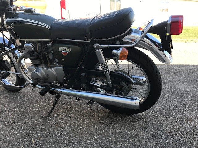 1973 Honda CB350 For Sale (picture 4 of 5)