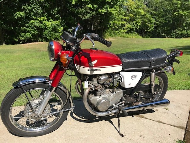 1971 Honda CB350 For Sale (picture 1 of 4)