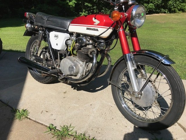 1971 Honda CB350 For Sale (picture 3 of 4)