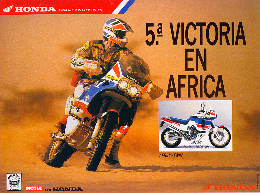 1988 Honda Africa Twin XRV650-J RD03 For Sale (picture 9 of 20)