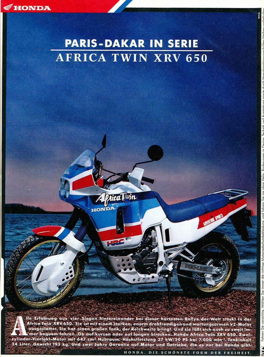 1988 Honda Africa Twin XRV650-J RD03 For Sale (picture 10 of 20)