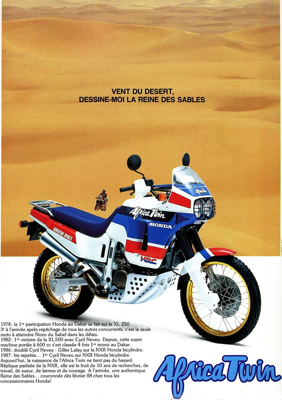 1988 Honda Africa Twin XRV650-J RD03 For Sale (picture 11 of 20)