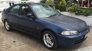 Honda Civic 1.6i ESI VTEC Auto 4d Saloon Blue