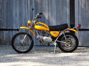 1971 Immaculate Honda SL70. Completely restored.