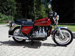 Honda GL1000 Goldwing Plain Jane 1975 with just 2.183 Miles! SOLD