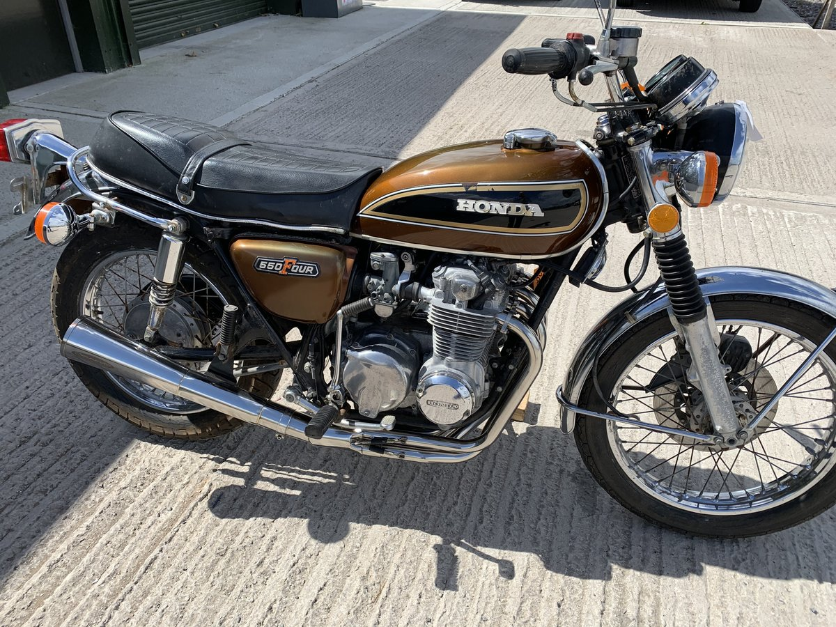 1976 Honda CB550 SOLD (picture 2 of 5)