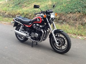 1986 Exceptional CBX 650 E with very low original miles