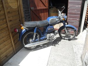 Picture of Lot 266 - 1969 Honda CD90 - 27/080/2020 SOLD by Auction