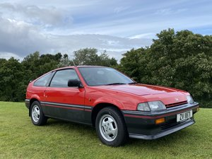 1985 Honda CRX Mk1 Only 50K 2 owners RARITY!