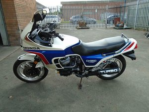 Picture of HONDA-CX650-TURBO-MOTORBIKE-1983-Pearl and Blue SOLD