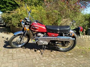 Picture of Lot 293 - 1972 Honda CL 175 - 27/08/2020 SOLD by Auction