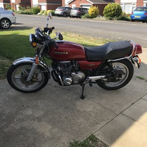 Honda CB650Z  moted nov 20