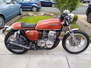 Honda cb750 k6 Cafe Racer