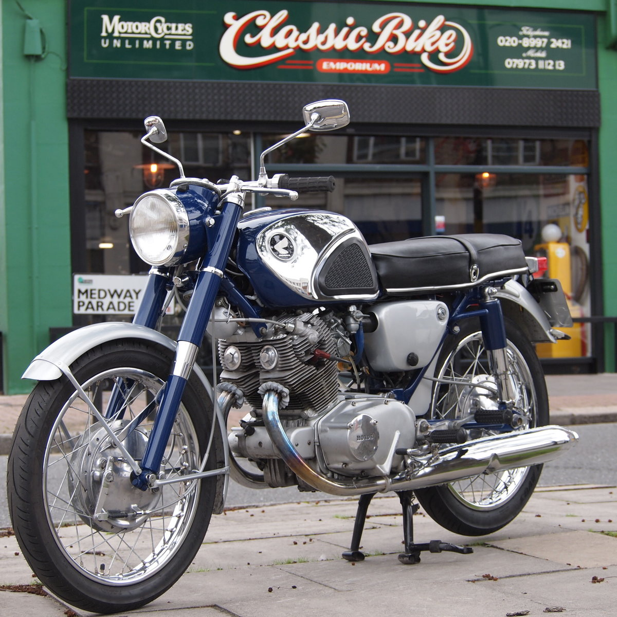1965 Honda CB77 305cc Classic Twin, RESERVED FOR BILL. SOLD (picture 1 of 6)