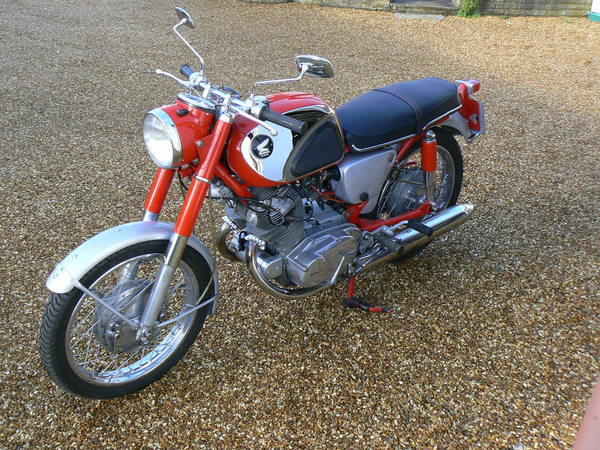 1965 Honda CB72 Sports For Sale (picture 1 of 6)