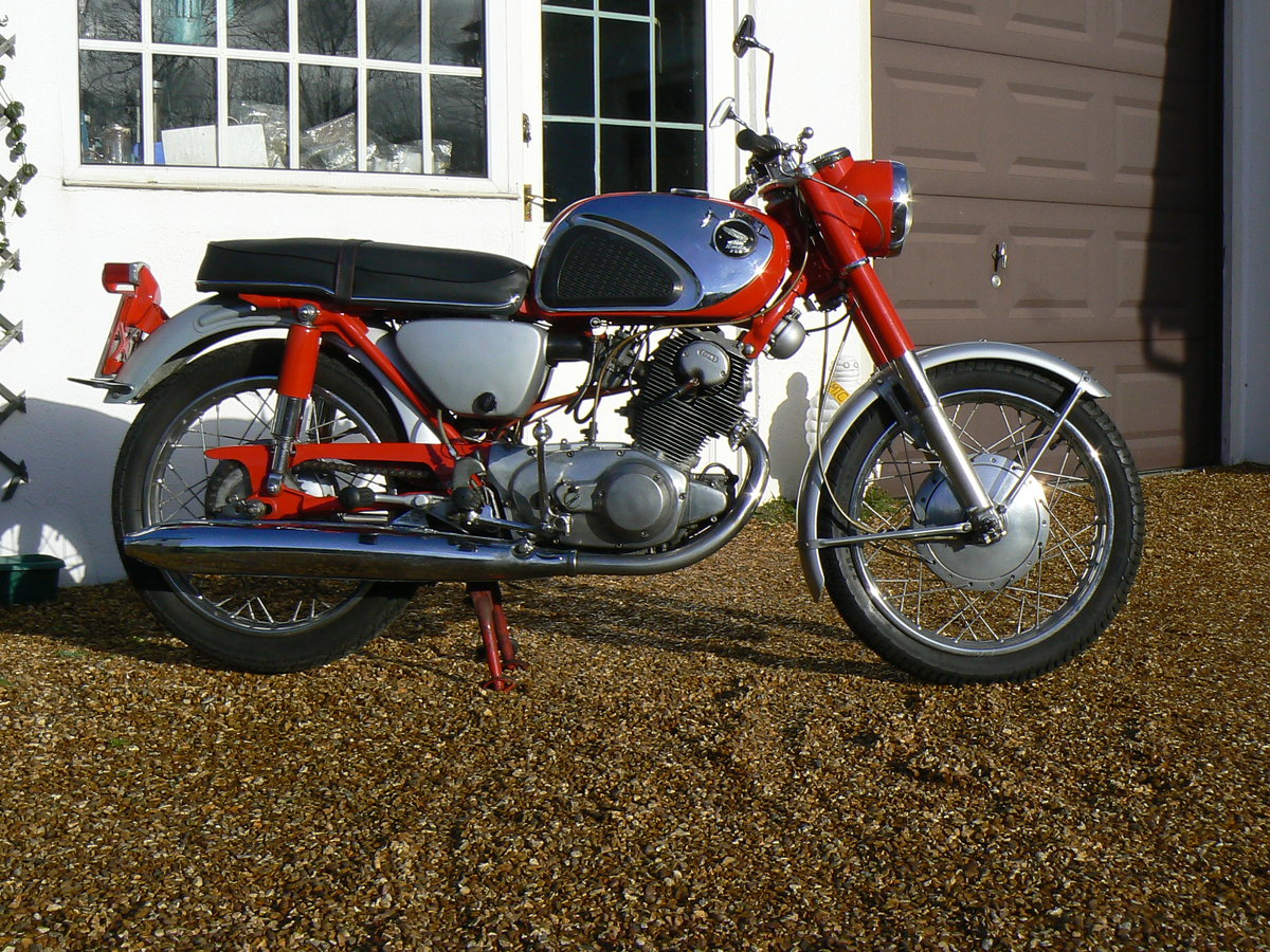 1965 Honda CB72 Sports For Sale (picture 4 of 6)