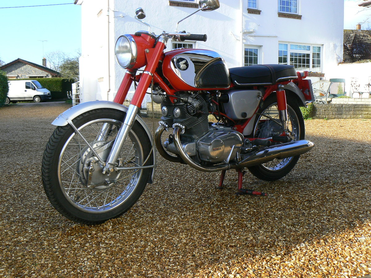 1965 Honda CB72 Sports For Sale (picture 6 of 6)