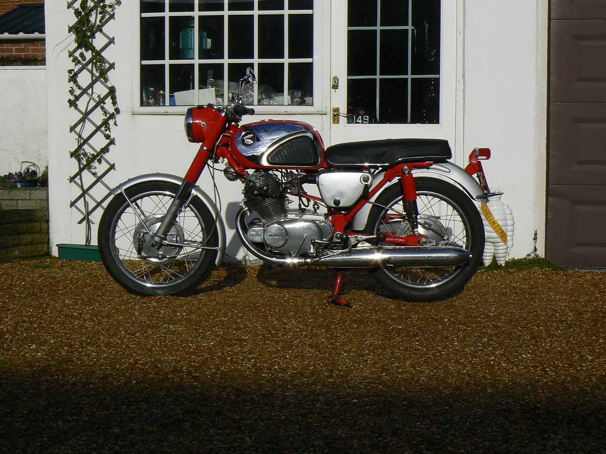 1965 Honda CB72 Sports For Sale (picture 3 of 6)