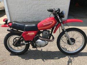 1980 Honda XL250S