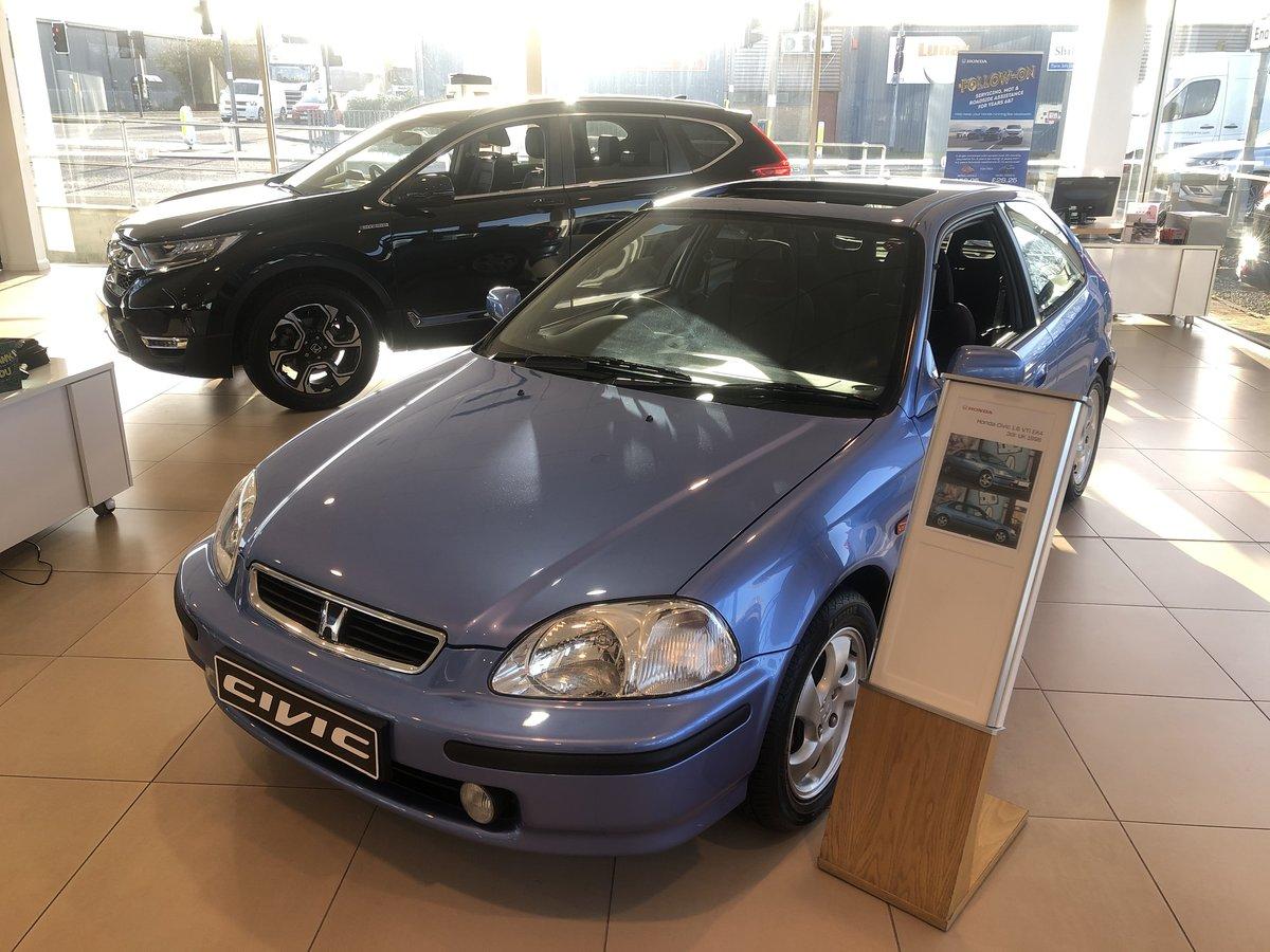 Honda Civic 1.6 VTi EK4 3dr UK 1998 For Sale (picture 3 of 6)