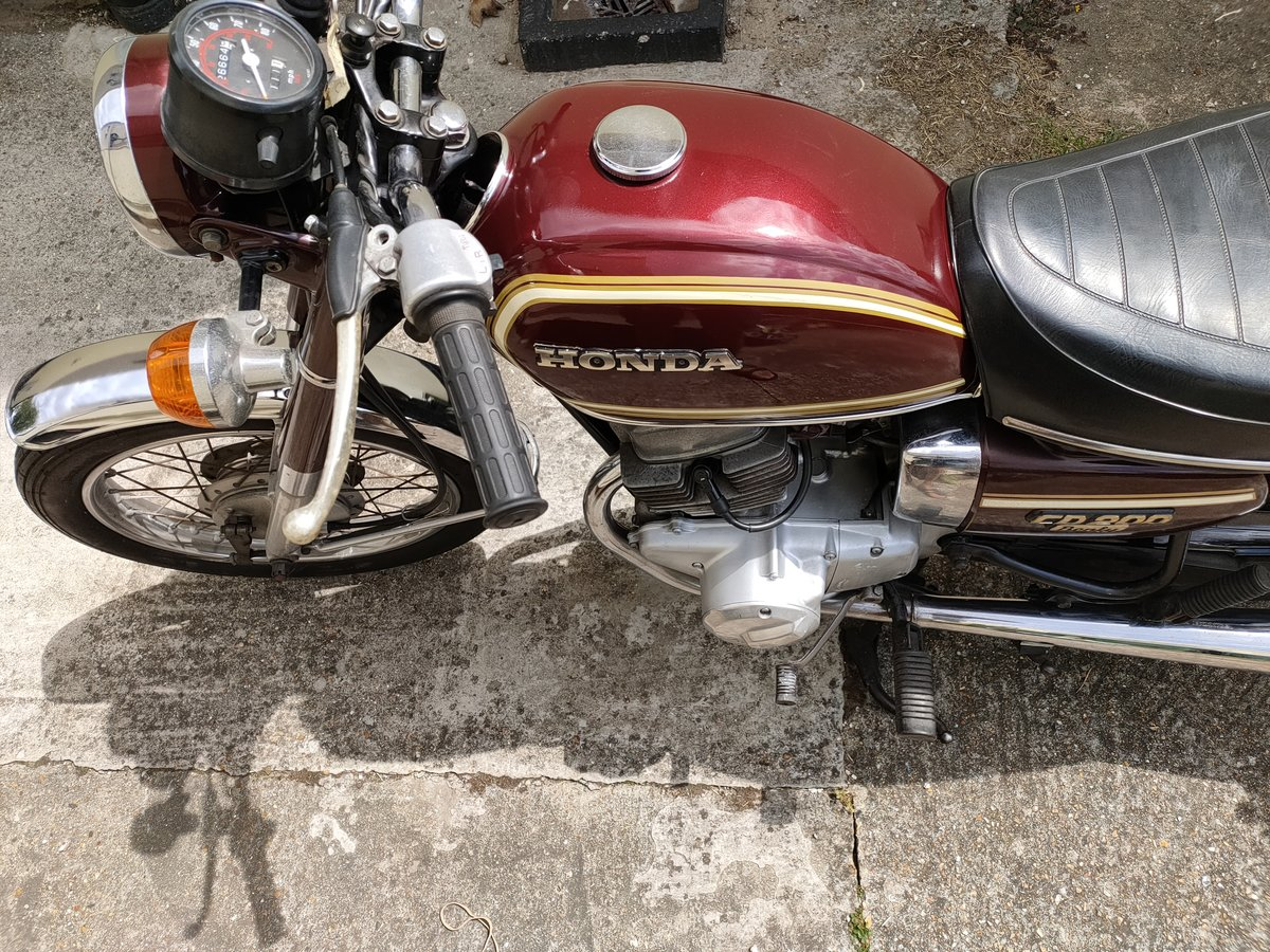 1980 Honda CD200 Benly For Sale (picture 1 of 6)