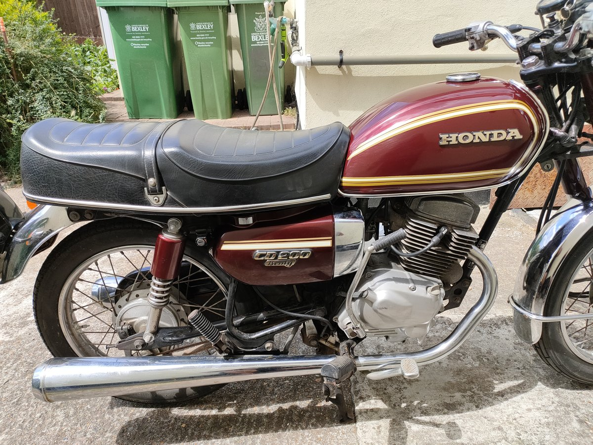 1980 Honda CD200 Benly For Sale (picture 4 of 6)