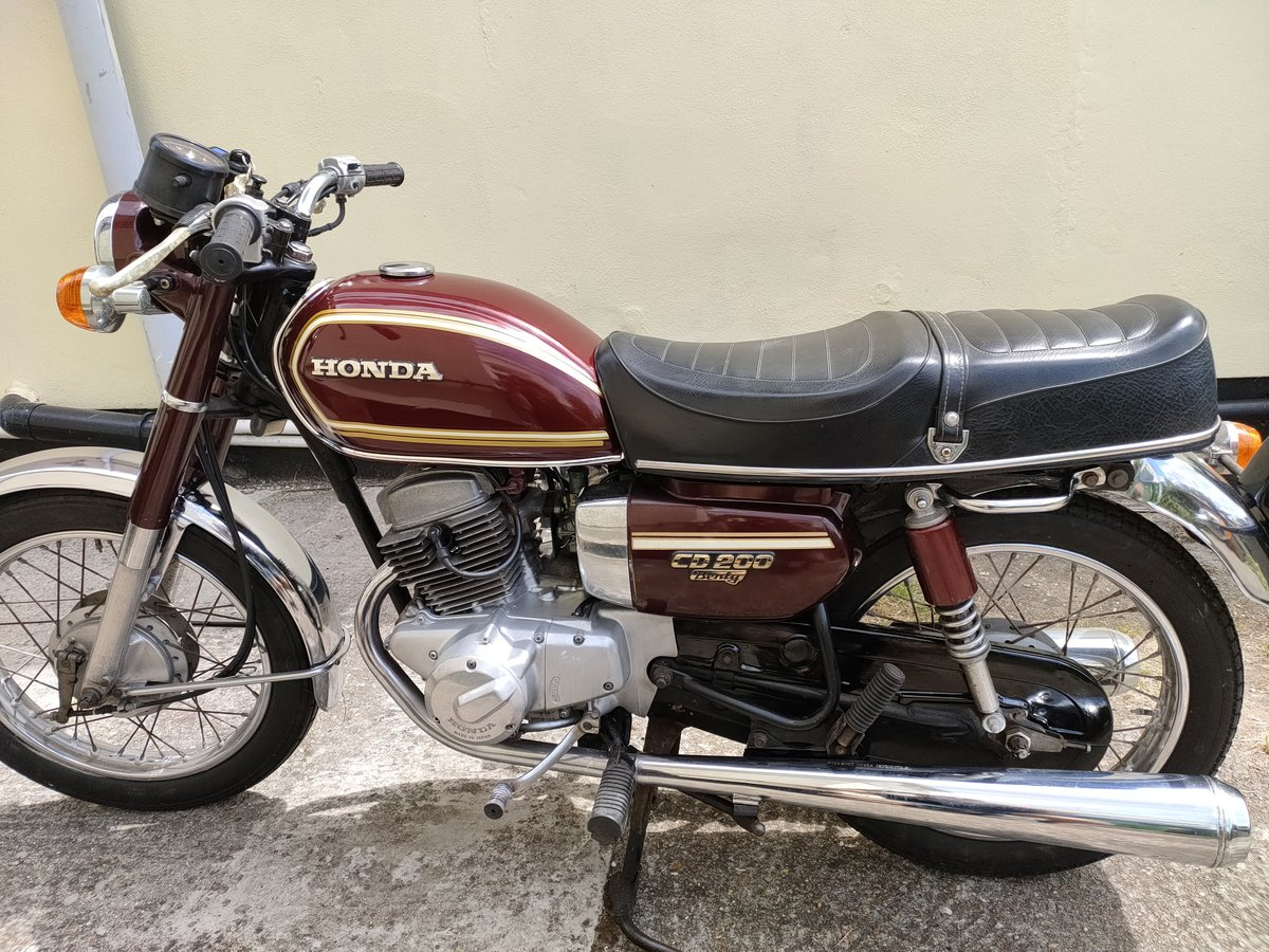 1980 Honda CD200 Benly For Sale (picture 5 of 6)