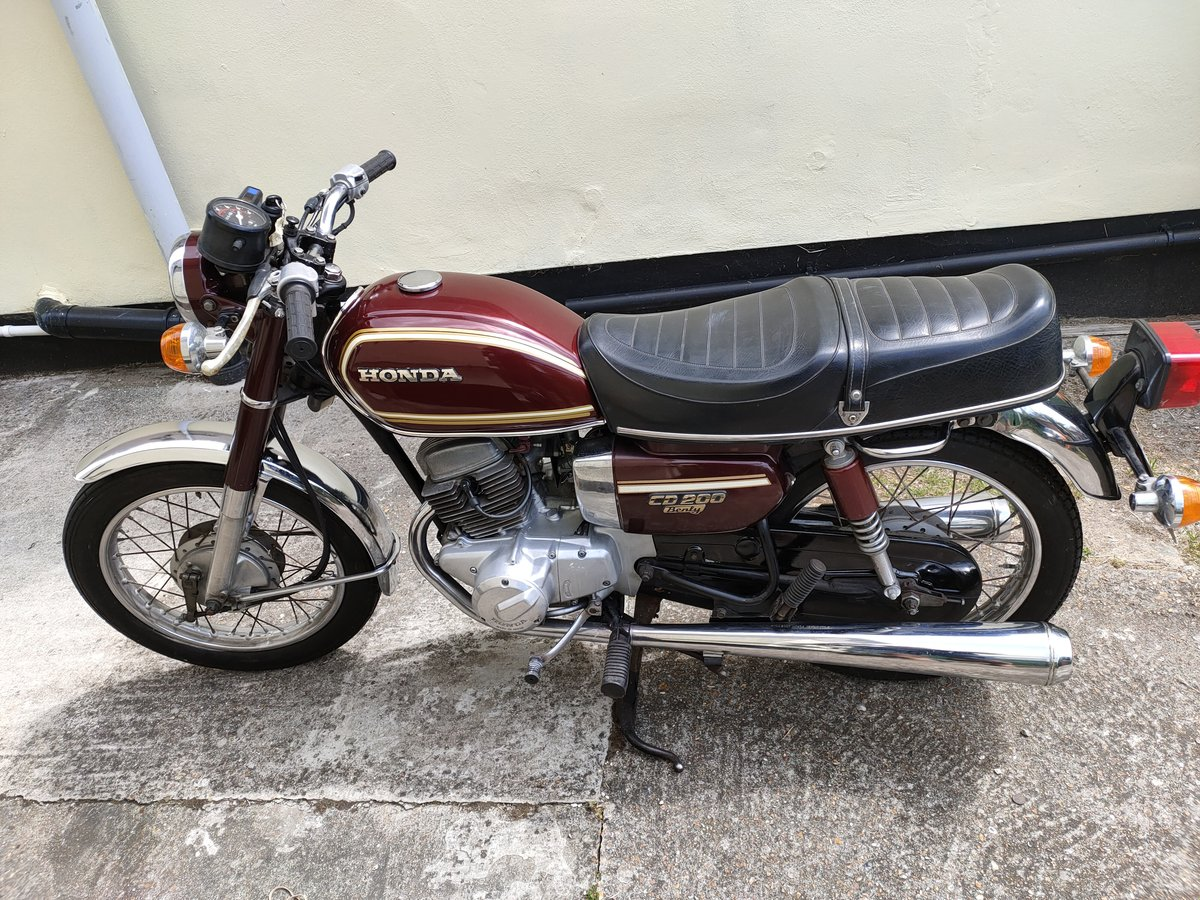 1980 Honda CD200 Benly For Sale (picture 6 of 6)