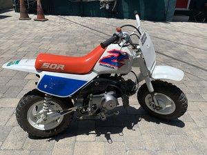 Clean Honda Z50R kids/pit bike