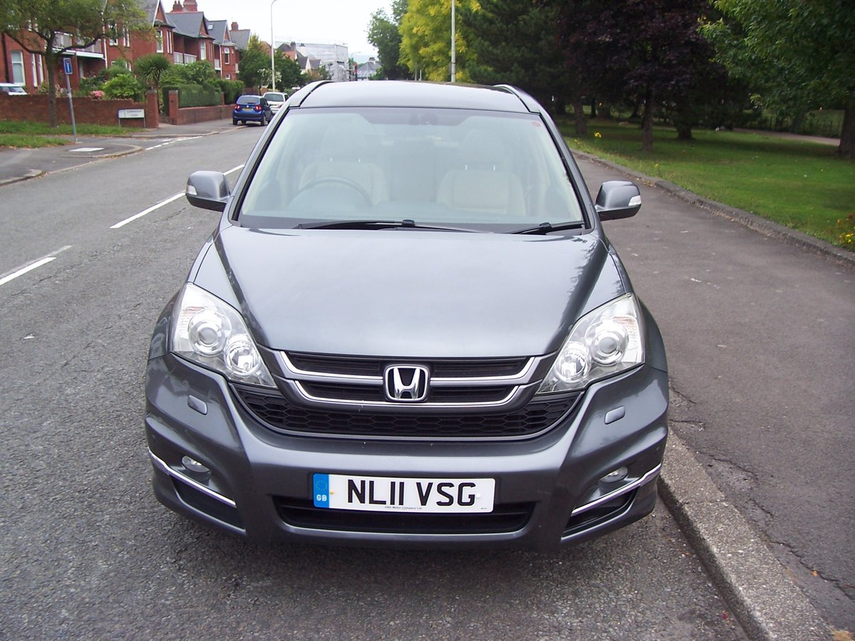 2011 HONDA CR-V 2.2 DTEC EX AUTOMATIC 5 DOOR For Sale (picture 3 of 6)